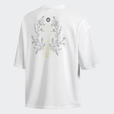 Camiseta ID Blanco Hombre Athletics