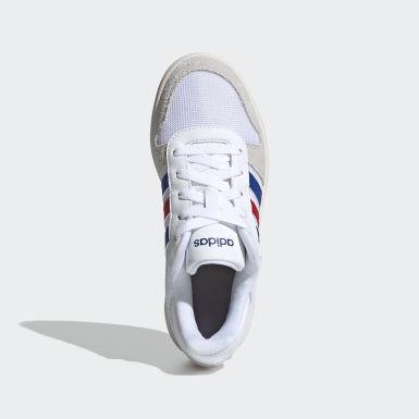 Chaussure Hoops 2.0 Blanc Enfants Basketball