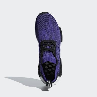 Kadın Originals Mor NMD_R1 Primeknit Ayakkabı