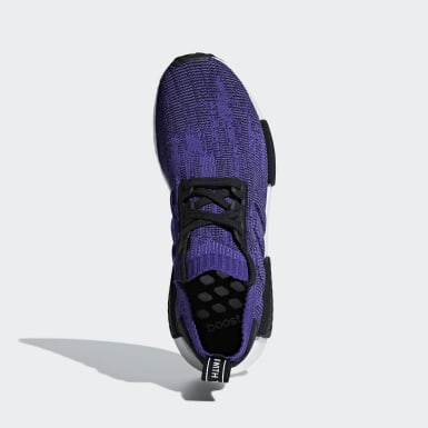 Women Originals Purple NMD_R1 Primeknit Shoes