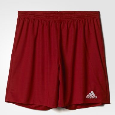 Men Football Red Parma 16 Shorts