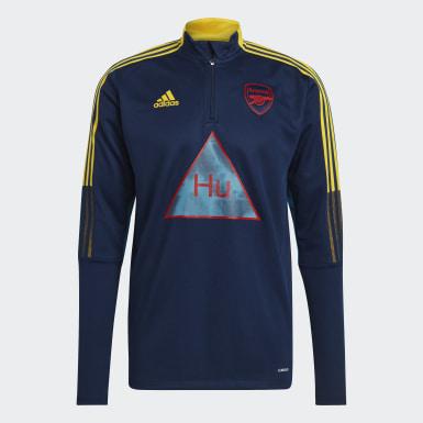Heren Voetbal Blauw Arsenal Human Race Sportshirt