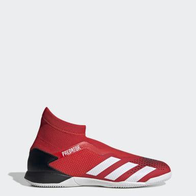Zapatos de Fútbol Predator 20.3 Cancha Cubierta Rojo Hombre Fútbol
