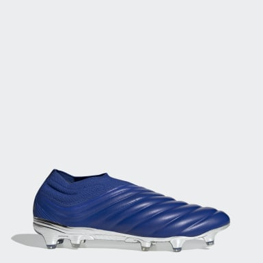 Soccer Blue Copa 20+ Firm Ground Cleats