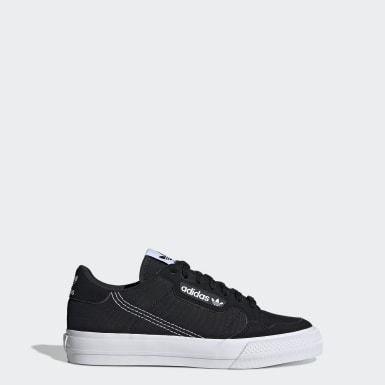 Zapatilla Continental Vulc Negro Niño Originals