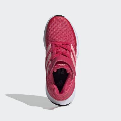 Chaussure RapidaRun rose Enfants Course