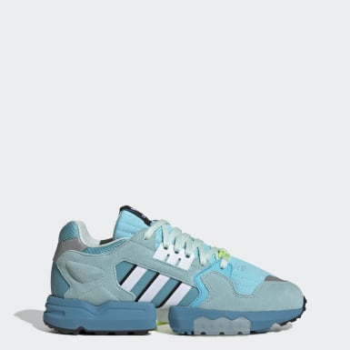 Tenis ZX Torsion Turquesa Hombre Originals