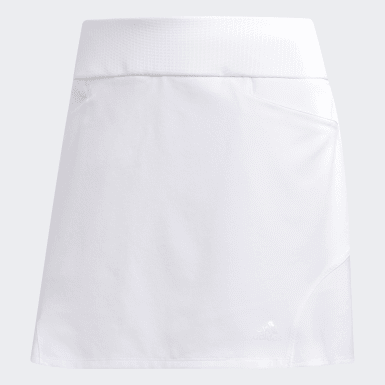 Women's Golf White Fashion Golf Skort