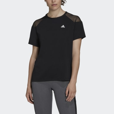 Frauen Running Unleash Confidence Tee Schwarz