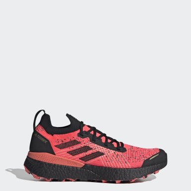 Men's Trail Running Pink Terrex Two Ultra Parley Trail Running Shoes