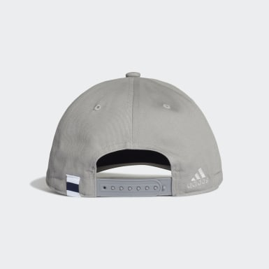 Casquette Real Madrid Gris Football