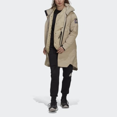 Dam City Outdoor Beige MYSHELTER 4IN1 Parka