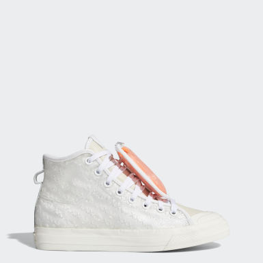 Originals White Nizza 420 Hi RF Shoes