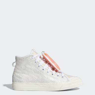 Sapatos Nizza 420 HI RF Branco Mulher Originals