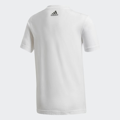 Camiseta Estampada Blanco Niño Training
