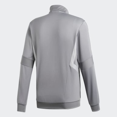 Men's Soccer Grey Tiro 19 Training Jacket