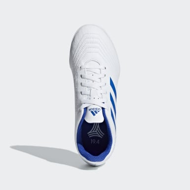 Calzado de Fútbol Predator Tango 19.4 Pasto Sintético Blanco Niño Fútbol