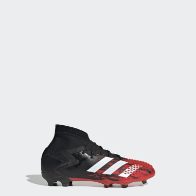 Boys Football Black Predator Mutator 20.1 Firm Ground Boots