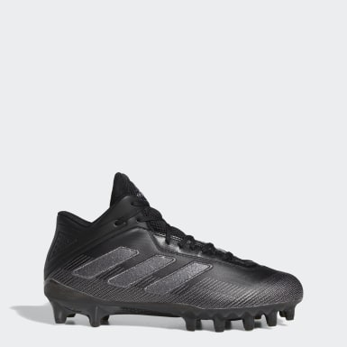 Men's Football Black Freak Carbon Cleats