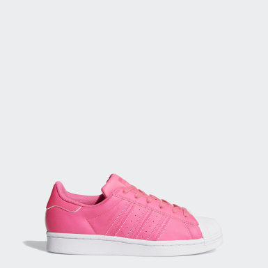 Youth Originals Pink Superstar Shoes
