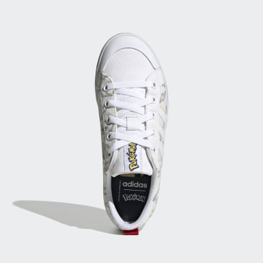 Kids Sport Inspired White Bravada Shoes