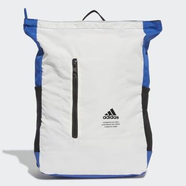 ไลฟ์สไตล์ สีขาว กระเป๋าเป้ทรงคลาสสิกมีซิปด้านบน