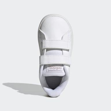 Barn Tennis Vit Advantage Shoes