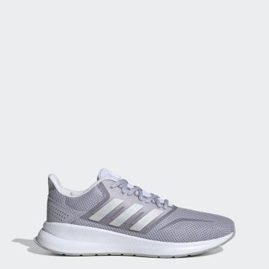 Women Running Grey Runfalcon Shoes