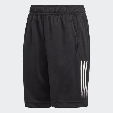 Boys Yoga Black AEROREADY Shorts