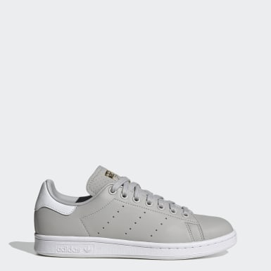 Women Originals Grey Stan Smith Shoes