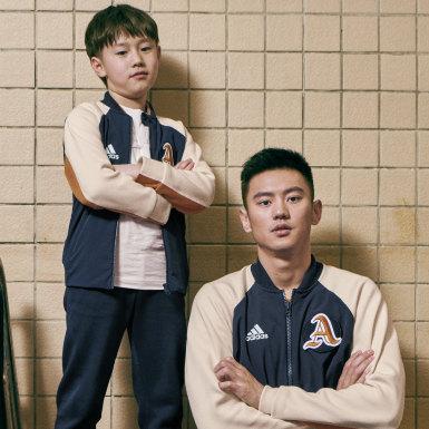 Jongens Athletics blauw VRCT Jack