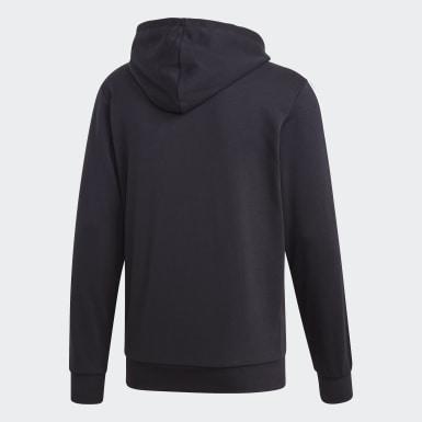 ผู้ชาย ไลฟ์สไตล์ สีดำ เสื้อแทรคแจ็คเก็ต Essentials 3-Stripes