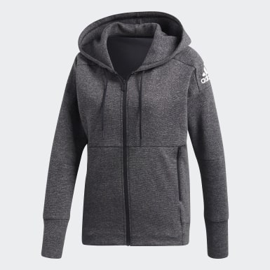 Women Athletics Grey ID Stadium Hoodie
