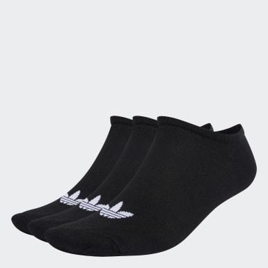 Originals สีดำ ถุงเท้า Trefoil Liner