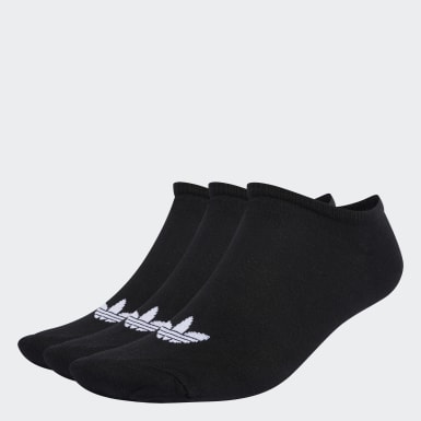 Originals čierna Ponožky Trefoil Liner