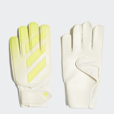 Football White X Lite Goalkeeper Gloves