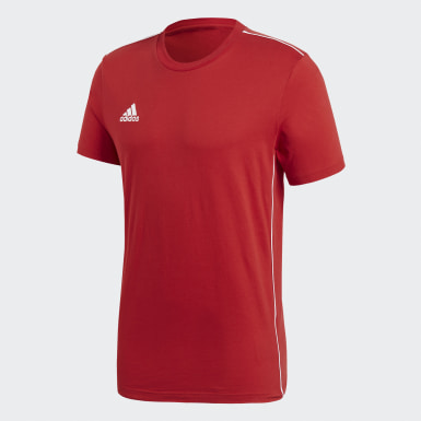 T-shirt Core 18 Rouge Hommes Training