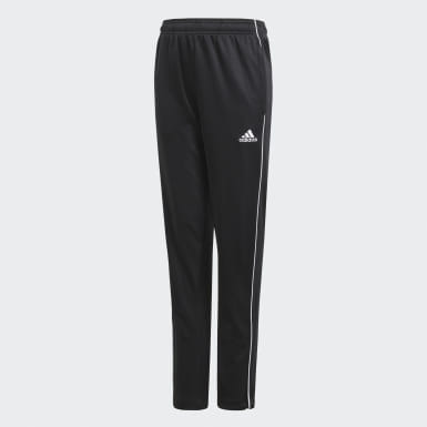 Youth 8-16 Years Training Black Core 18 Training Tracksuit Bottoms