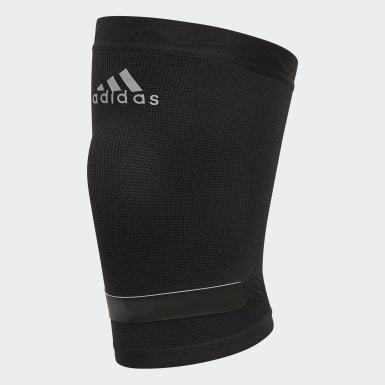 Training Black Performance Climacool Knee Support Small