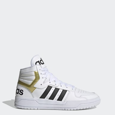 Men's Essentials White Entrap Mid Shoes