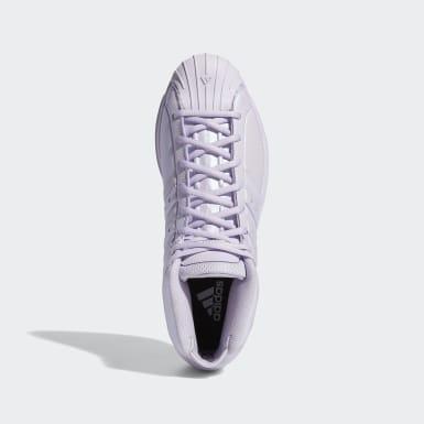 Basketbal Paars Pro Model 2G Schoenen