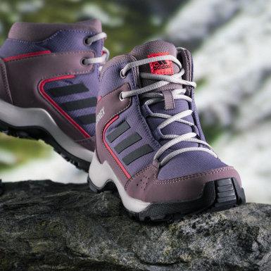 Sapatos de Caminhada Hyperhiker TERREX Roxo Criança TERREX