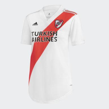 Camiseta Local River Plate Blanco Mujer Fútbol