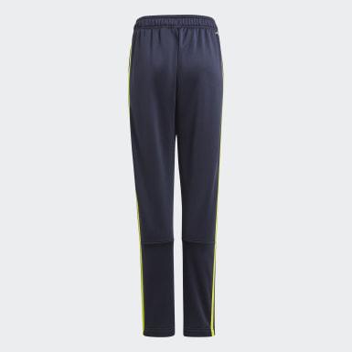 Boys Athletics Blue Designed 2 Move 3-Stripes Pants