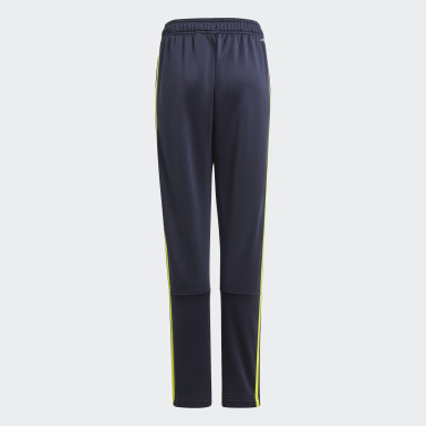 Pantaloni Designed 2 Move 3-Stripes Blu Ragazzo Athletics