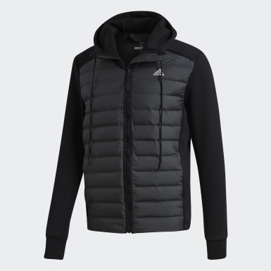 Men Urban Outdoor Black Varilite Hybrid Jacket