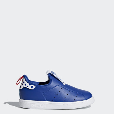 Tenis Stan Smith 360 Azul Niño Originals