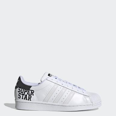 Originals สีขาว รองเท้า Superstar