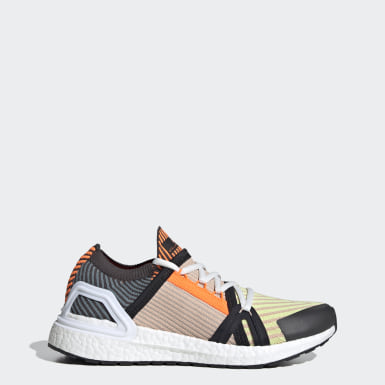 Women adidas by Stella McCartney Yellow adidas by Stella McCartney Ultraboost 20 Shoe