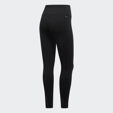Women Training Black Designed 2 Move Climalite Leggings